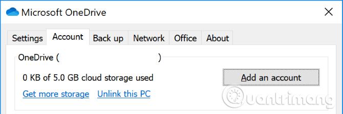 Kiểm tra dung lượng lưu trữ