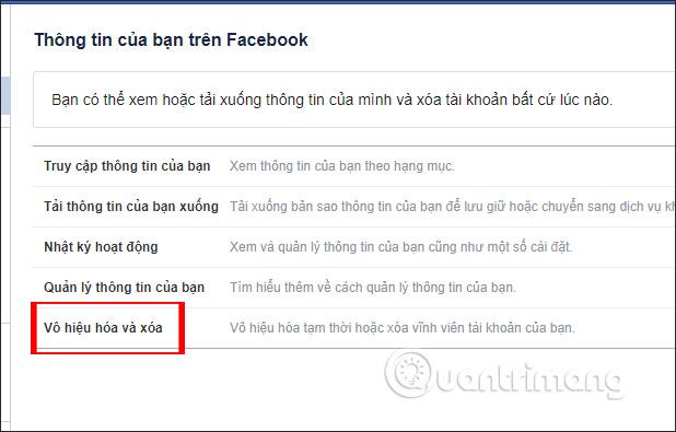 Cách xóa tài khoản Facebook tạm thời - Ảnh minh hoạ 3
