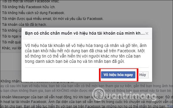 Cách xóa tài khoản Facebook tạm thời - Ảnh minh hoạ 7