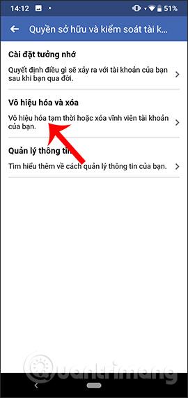 Hướng dẫn xóa Facebook tạm thời, vĩnh viễn trên Android - Ảnh minh hoạ 5