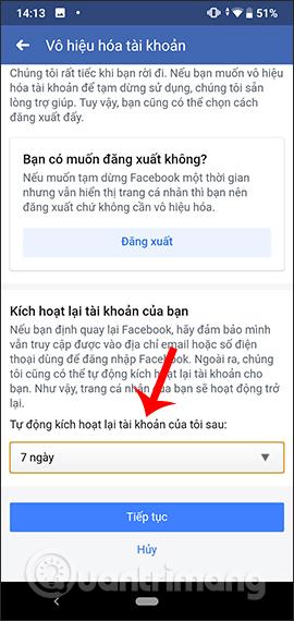 Hướng dẫn xóa Facebook tạm thời, vĩnh viễn trên Android - Ảnh minh hoạ 8