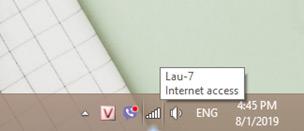 Kiểm tra kết nối internet và khởi động router nếu cần thiết