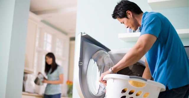 Cách vệ sinh máy giặt cửa ngang