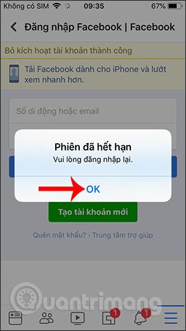 Hướng dẫn khóa tạm thời, vĩnh viễn Facebook iPhone/iPad - Ảnh minh hoạ 13
