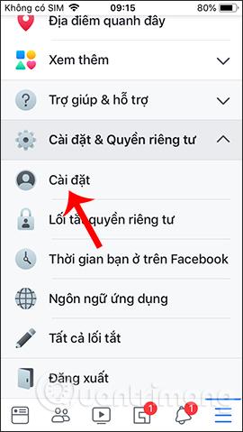 Hướng dẫn khóa tạm thời, vĩnh viễn Facebook iPhone/iPad - Ảnh minh hoạ 3