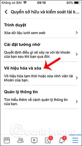 Hướng dẫn khóa tạm thời, vĩnh viễn Facebook iPhone/iPad - Ảnh minh hoạ 5