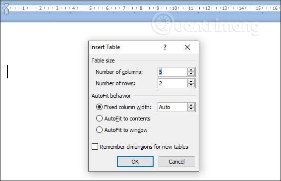MS Word - Bài 8: Tạo bảng - Ảnh minh hoạ 2