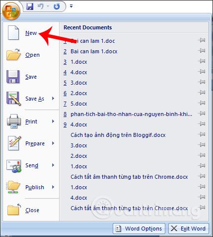 MS Word - Bài 2: Làm việc với Documents