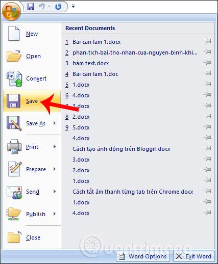 MS Word - Bài 2: Làm việc với Documents - Ảnh minh hoạ 15