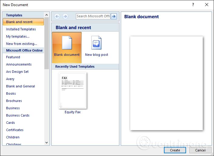 MS Word - Bài 2: Làm việc với Documents - Ảnh minh hoạ 2