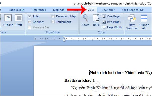 MS Word - Bài 2: Làm việc với Documents - Ảnh minh hoạ 4