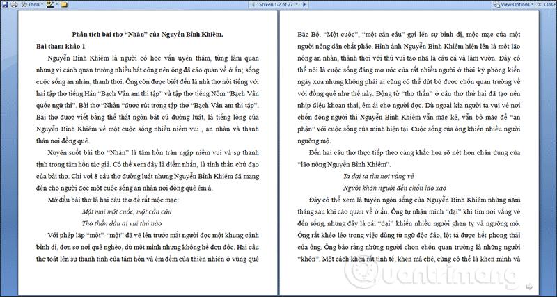 MS Word - Bài 2: Làm việc với Documents - Ảnh minh hoạ 6