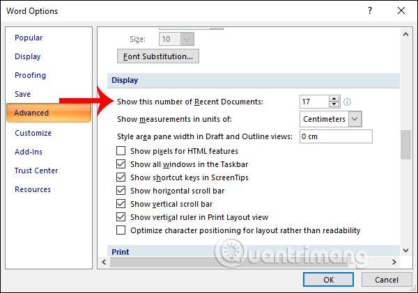 Cách xóa danh sách file vừa mở trong Word 2007 - Ảnh minh hoạ 4