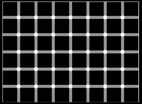 Bạn có đếm được số chấm đen trong bức hình dưới đây không?