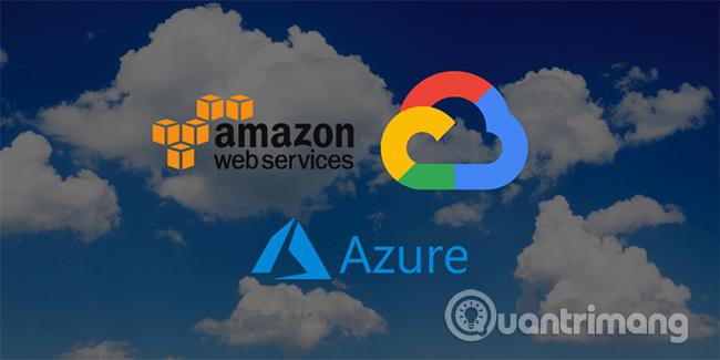 Khả năng lưu trữ của AWS và Microsoft Azure