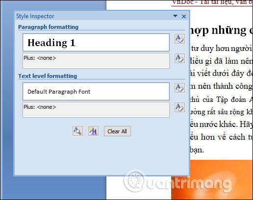 MS Word - Bài 7: Cách dùng Styles - Ảnh minh hoạ 12