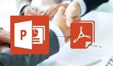 Cách chuyển file PPT sang PDF