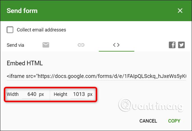 Cách tạo biểu mẫu liên hệ trang web bằng Google Forms - Ảnh minh hoạ 11