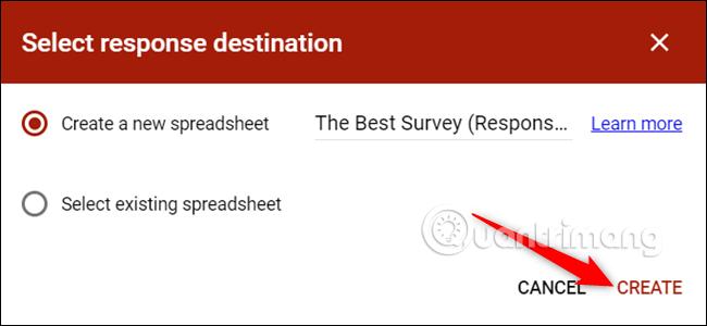 Cách tạo biểu mẫu liên hệ trang web bằng Google Forms - Ảnh minh hoạ 13