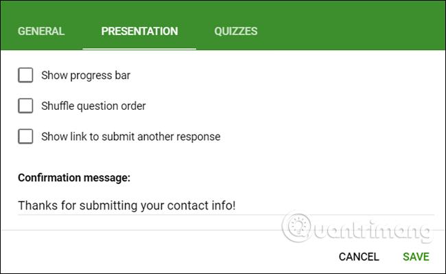 Cách tạo biểu mẫu liên hệ trang web bằng Google Forms - Ảnh minh hoạ 8