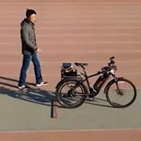 Xem xe đạp tự lái được trang bị chip AI đi như thật