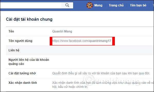 Hướng dẫn đổi tên người dùng Facebook - Ảnh minh hoạ 6