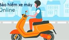 Cách mua bảo hiểm xe máy online, giao tận nhà