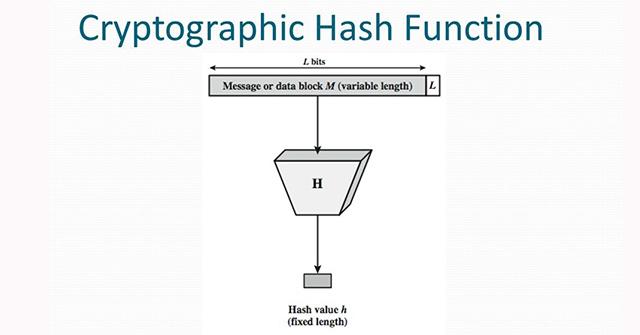 Hàm Cryptographic Hash (hàm băm mật mã) là gì? - Quantrimang com