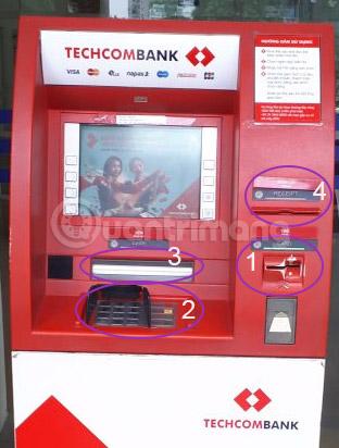 Hướng dẫn cách rút tiền qua thẻ ATM
