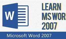 Cách tự tạo phím tắt cho lệnh trong Word 2007