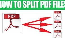 Cách chia nhỏ file PDF không bị lỗi tiếng Việt