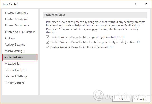 Protected View là gì? Bật, tắt tính năng Protected View trong Office 2016 - Ảnh minh hoạ 5