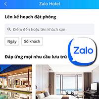 Cách đặt phòng khách sạn trên Zalo