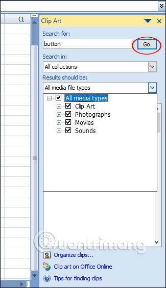 Tìm kiếm Clip Art