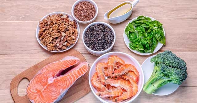 Kết quả hình ảnh cho Thực phẩm giàu axit béo Omega-3