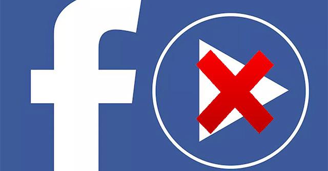 Cách tắt tự động phát video Facebook