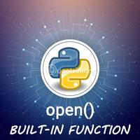Hàm open() trong Python