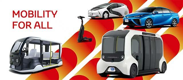 Toyota tài trợ 3.700 phương tiện trung chuyển làm nhiệm vụ tại Olympics và Paralympics lần này