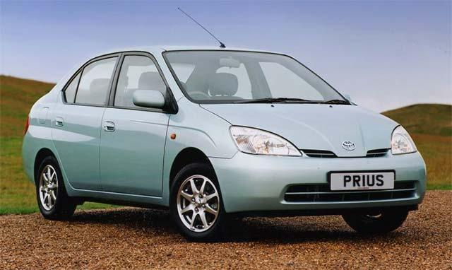 Toyota Prius Hybrid 1997 mẫu xe chạy động cơ lai xăng - điện đầu tiên trên thế giới