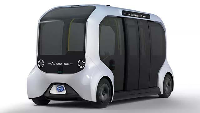 e-Palettes là mẫu xe điện tự hành đa dụng phục vụ cho Thế vận hội 2020