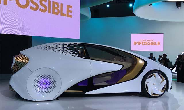 e-Palettes - chiếc xe điện thông minh nhất của Toyota
