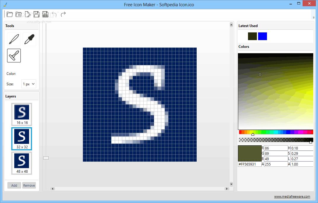Phần mềm Free Icon Maker