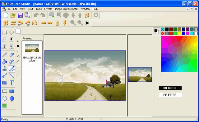 Phần mềm Falco Icon Studio