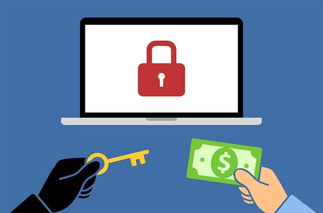 Nạn nhân của ransomware sẽ bị yêu cầu trả tiền chuộc để đổi lấy key giải mã dữ liệu