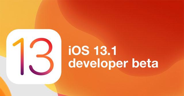 Nâng cấp iOS 13.1 beta ngay bây giờ