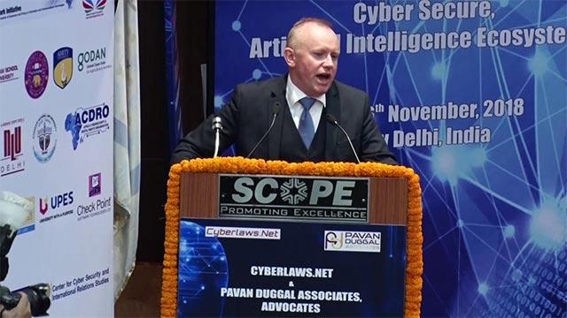 Ông Jean-Dominique Nollet - Người đứng đầu trung tâm phòng chống tội phạm kỹ thuật số C3N