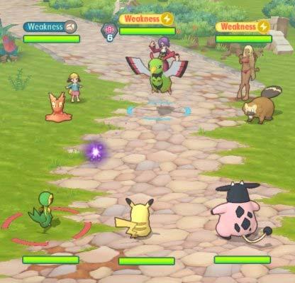 Chiến tranh 3v3 trong Pokémon Masters