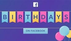 Cách tắt thông báo sinh nhật trên Facebook, ẩn ngày sinh Facebook