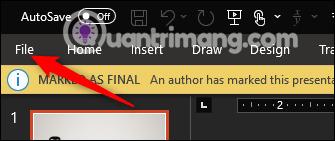 Cách khóa và mở khóa file Powerpoint để chỉnh sửa - Ảnh minh hoạ 3