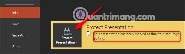 Cách khóa và mở khóa file Powerpoint để chỉnh sửa - Ảnh minh hoạ 4